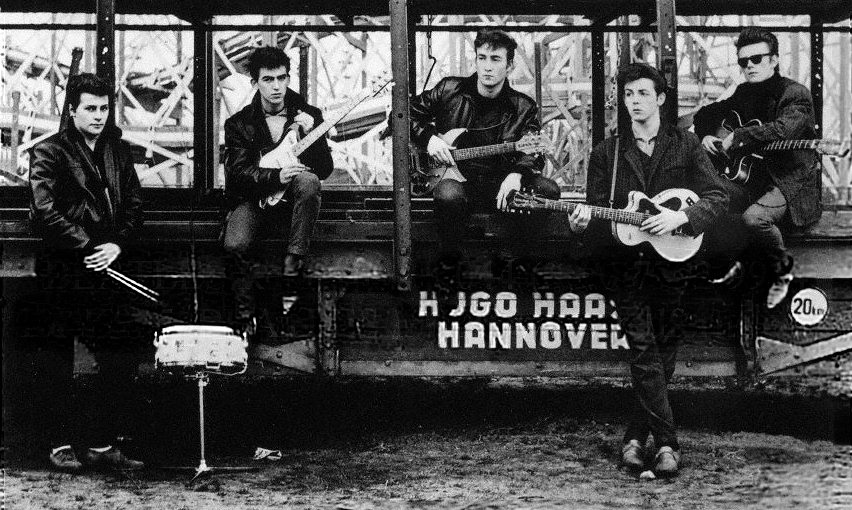 The Beatles in Hamburg, Germany 1960