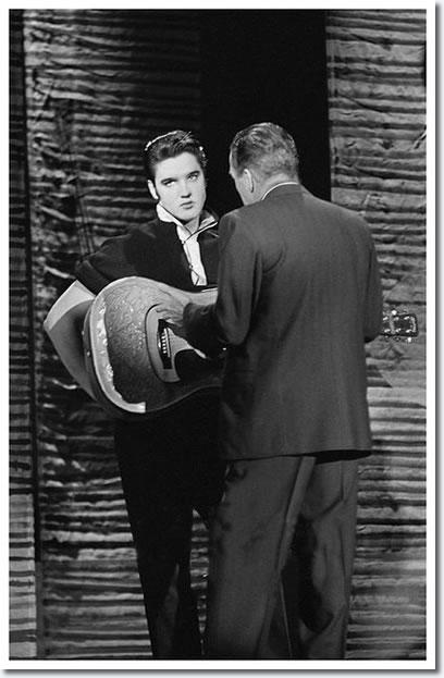 Elvis with Ed Sullivan