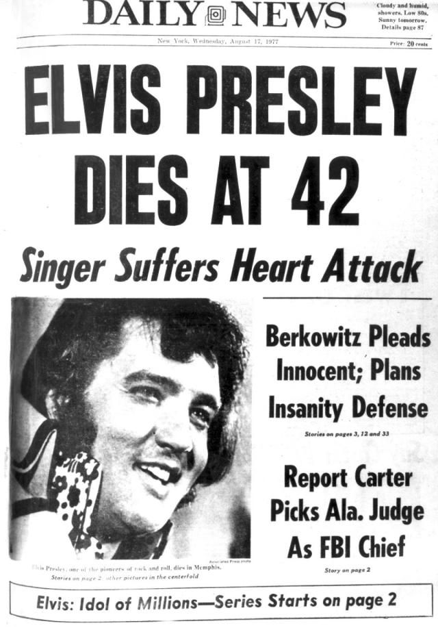 How did Elvis Presley die? – Elvis Presley biography