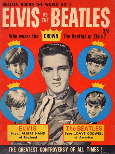 Elvis Presley vs The Beatles
