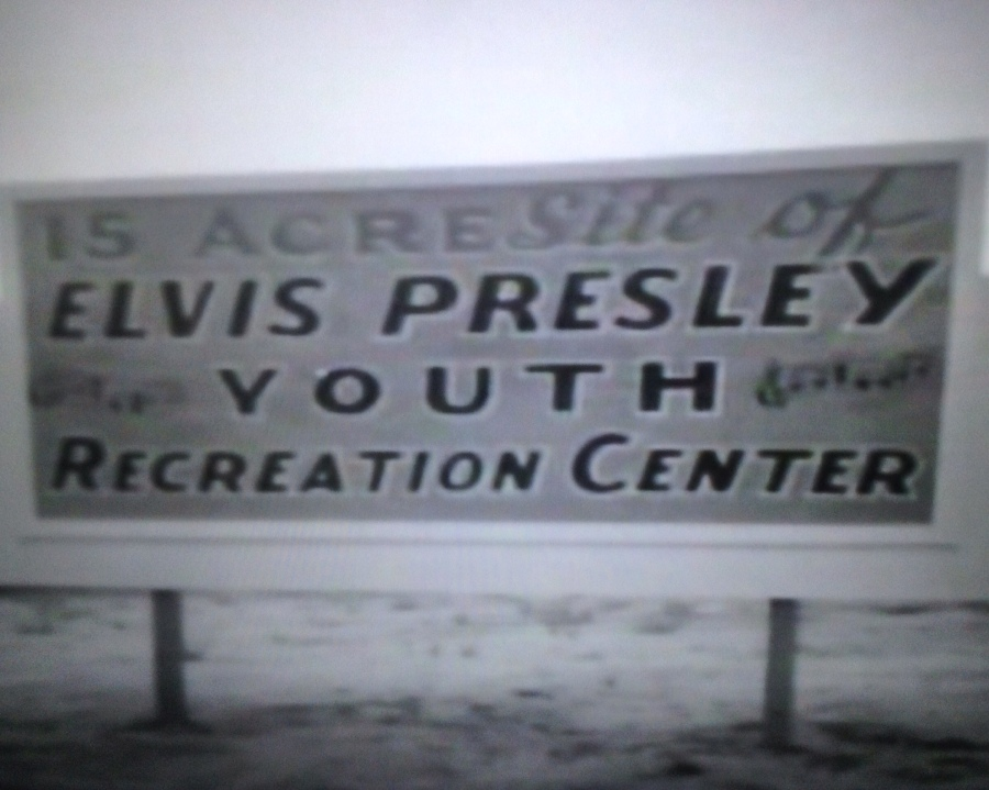 Youth Center sign